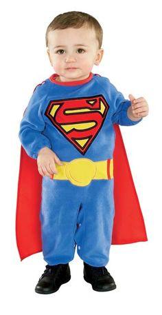 Superman Baby Halloween Costumes HalloweenCostumes4u.com  $20.90