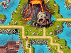 Title: Pirate island tileset Pixel Artist: feiss