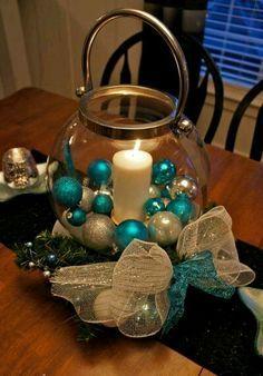 ms y ms crea hermosas navideas usando peceras