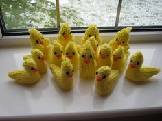 Easter chicks on parade!