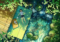Летние воспоминания в иллюстрациях