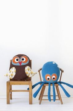 Ferm Living - Cojín Octopus - CamaChic.com