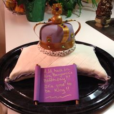 Cake fit for a king!