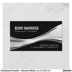 100 Best Plumber Business Card Templates Images In 2020 Plumber Business Cards Business