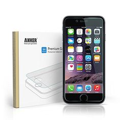 Anker® Premium Tempered Glass Screen Protector for iPhone 6 (4.7 inch) with 9H Hardness and 96% Transparency  [Lifetime Warranty] Anker http://www.amazon.co.uk/dp/B00MGE1WYG/ref=cm_sw_r_pi_dp_U8j2vb0JFNFT9