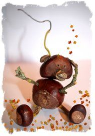 Hedgerow Crafts, Autumn Twigs, Conkers and Winter Magic at Eco Enchantments. Conkers Craft, Candle Lanterns, Candles, Winter Magic, Pine Cone Crafts, Pine Cones, Fruit, Decor, Decoration