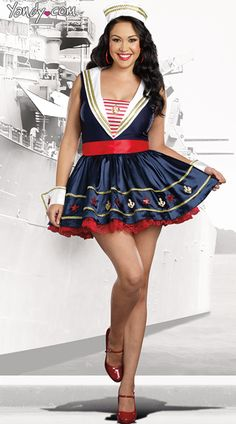 54f67f74783 2015 Sexy Halloween Costumes Ideas For Plus Size Women 12 Sailor Costumes