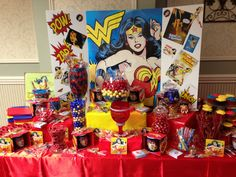 My Wonder Woman Candy Bar!