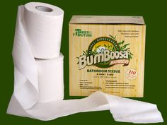 Luscious Planet: Treeless BPA-Free Toilet Paper Made from Bamboo