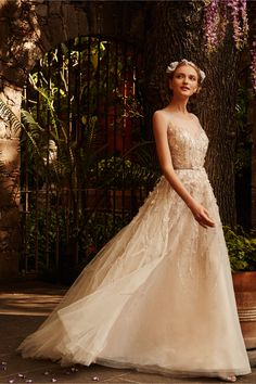 Wisteria Gown in Bride Wedding Dresses at BHLDN