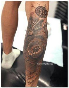 bein tattoos tattoos an der wade tattoo motive fuer maenner tattoo ideen tattoo alex. Black Bedroom Furniture Sets. Home Design Ideas