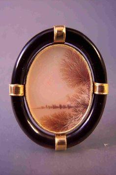 Brooch by contemporary jeweler, Tom Herman.
