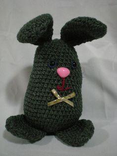 Conejo orejón gris