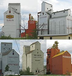 The disappearing Grain Elevator - Speak Up Archive: A Different Logoscape N Scale Buildings, Office Buildings, Old Buildings, Canadian History, American History, Lego Trains, Railroad Photography, Industrial Architecture, Study Help