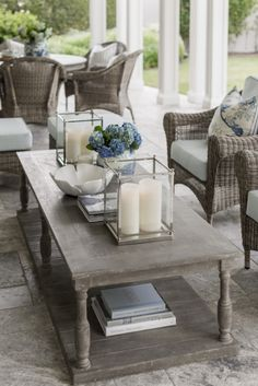 Check out these Designer tips for styling a coffee table at tuftandtrim.com!