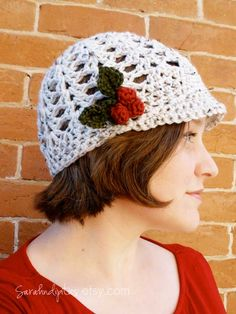 Crochet: Holly Berry Pin « GOODKNITS // a knitting & crochet blog