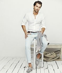 Men's Riviera Outfit Inspiration - Driving Shoes