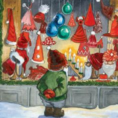Nisse Goes Christmas Shopping