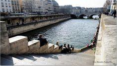 La Seine / El río Sena, en París