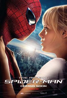 A softer side to Spider-man is shown in this new poster which also features Emma Stone - THE AMAZING SPIDER-MAN.