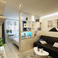 Brown Kitchen Designs, Appartement Design, Brown Kitchens, In Law Suite, Home Interior Design, Living Room, Bedroom, Studio, House
