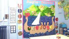 Anglo saxons Classroom Display Boards, Classroom Displays, Ks2 Classroom, Classroom Themes, School Wall Decoration, Art School, School Stuff, School 2017, Norway Viking