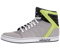 d434dfcd850b03 Adidas adiHigh EXT Grey   Green   Black