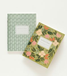 Moss Garden Pocket Notebooks