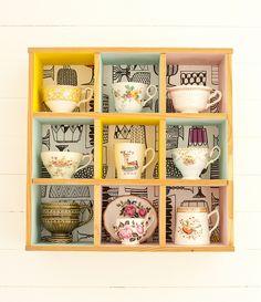 Tea Cup Display
