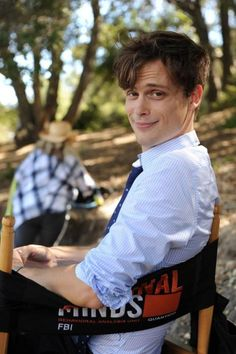 Matthew Gray Gubler | Dr.Spencer Reid Criminal Minds He's so cheesy!