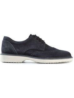 HOGAN rubber sole brogues