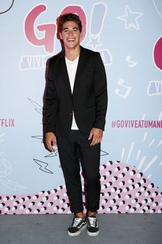Apr 2020 - José Gimenez Zapiola Photos - Actor José Gimenez Zapiola poses during the Premiere of Netflix's 'Go! Vive a Tu Manera' at Bubble Studios on February 2019 in Buenos Aires, Argentina. Vive a Tu Manera' Buenos Aires Premiere Netflix And Chill, Shows On Netflix, Movies And Tv Shows, Greenhouse Academy, Love Of My Live, Just Jared, Beautiful Boys, Live For Yourself, Cute Boys