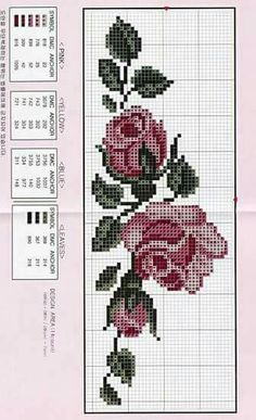 1 million+ Stunning Free Images to Use Anywhere Cross Stitch Bookmarks, Cross Stitch Rose, Cross Stitch Flowers, Cross Stitch Patterns, Crochet Bedspread, Tapestry Crochet, Wreath Drawing, Free To Use Images, Small Rose