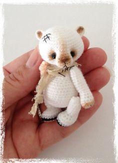 Teddy Bear Crochet Applique Patterns   VaniLLa BeaN Thread Crochet Teddy Bear