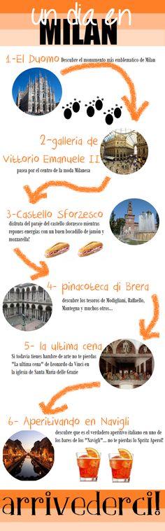 ¿Qué ver ir a hacer en Milán? Te proponemos un plan con 6 puntos donde ir si visitas Milán un solo día. No te los pierdas los mejores sitios que ver y hacer