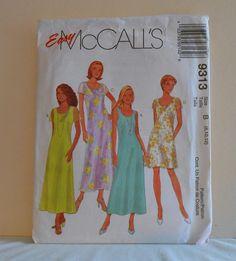 Womens Sleeveless Straight Dress Size 81012 UNCUT by filecutter, $3.75