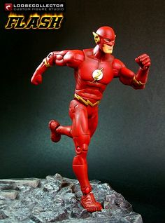 Loosecollector Custom Action Figures Official Website: Flash (TV version)