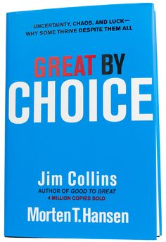 """Read """"Great by Choice Uncertainty, Chaos and Luck - Why Some Thrive Despite Them All"""" by Jim Collins available from Rakuten Kobo. THE NEW QUESTION Ten years after the worldwide bestseller Good to Great, Jim Collins returns with another groundbreaking. Management Books, Business Management, Good To Great, What To Read, Free Reading, Book Photography, Book Recommendations, Great Books, Book Lists"""
