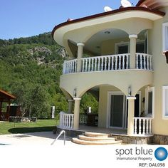 We are International Property Specialists. We can find your dream home in Turkey today. Visit www.spotblue.com #Turkey #RealEstate #Dalaman #Property #DreamHome #Views