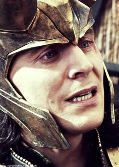 Tom as Loki:  Breaking my heart