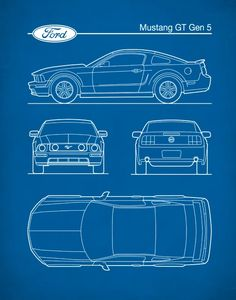 At Neue Studio Art Prints, we offer high quality Patent Prins, Auto Art and Retro Art for your Home or Office. Ford Gt, Car Ford, Mustangs, Blender 3d, Mustang Drawing, Ford Mustang Shelby Gt500, Vintage Tools, Car Drawings, Patent Prints