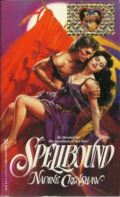 Spellbound by Nadine Crenshaw Historical Romance Book 0821732072 Free Romance Books, Historical Romance Books, Romance Novel Covers, Romance Novels, Romance Art, Vintage Romance, Vintage Books, Book Cover Art, Book Covers