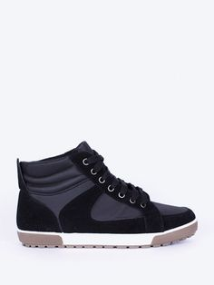 Bascheti inalti pentru barbati RXR negru High Tops, High Top Sneakers, Barbie, Adidas, Interior Design, Shoes, Fashion, Nest Design, Moda