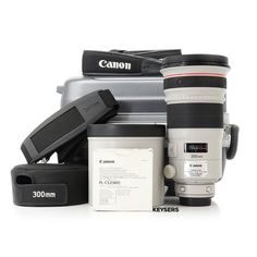The #Canon EF 300mm f2.8 L USM #Lens is perfect for #WildlifePhotography and Sport photography. Sport Photography, Wildlife Photography, Polarizing Filter, Used Cameras, Camera Equipment, Canon Ef, Protective Cases, Wii, Binoculars