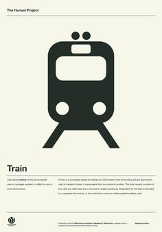 Creative Human, Poster, Wayfinding, Project, and Train image ideas & inspiration on Designspiration Train Posters, Rail Transport, Poster Design, Print Design, Logo Design, Train Art, Information Design, Grafik Design, Cool Posters
