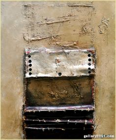 "John McCaw, ""The Message"", mixed media"