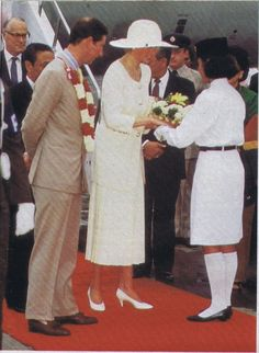 November 3, 1989: Prince Charles and Princess Diana in Indonesia