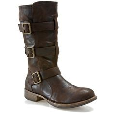 Super cute and comfy boots! They look great with skinny jeans.  Crown Vintage Roosevelt boot.