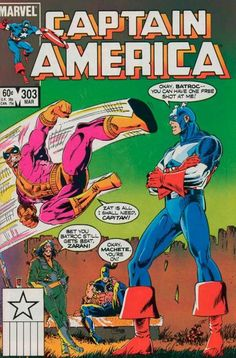 Captain America # 303 by Paul Neary