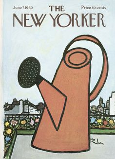 The New Yorker - Saturday, June 7, 1969 - Issue # 2312 - Vol. 45 - N° 16 - Cover by : Abe Bimbaum